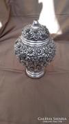 Made in Italy, Stilarte márka ezüstözött gyönyörű váza