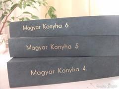 Magyar Konyha gasztronómiai újság 4,5,6 kötet1993,96,98 évi