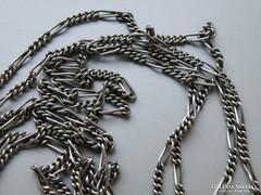 Ap 443 -  Extra hosszú 140 cm  ezüst figaró nyaklánc