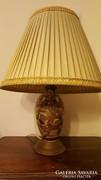 Antik Keleti mintás porcelán lámpa