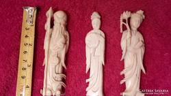 Keleti elefántcsont szobrok