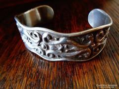 Csodás ezüst karkötő,nehéz,karakteres!