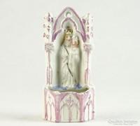 0K478 Antik porcelán szenteltvíztartó 9 cm