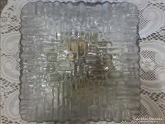 Retro kocka üveg lámpa