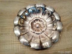 Ezüst tál gömb lábakkal eladó 159 g