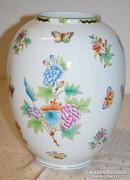 Herendi pillangós váza - 30 cm magas - Jelzett!