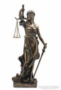 Justitia szobor 20cm