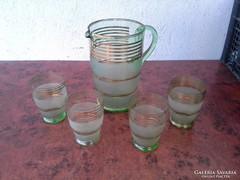 Régi kancsó-pohár