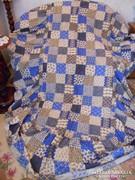 Heverő takaró 195x90 cm 3  három oldalán 51 cm fodor