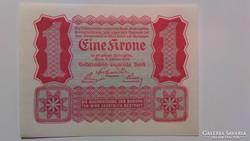 Eine Krone 1922