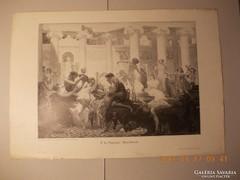 Baccanália :Festményröl készült kép 1880