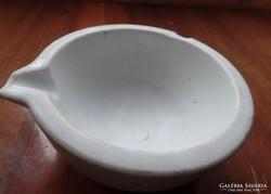 Patikai porcelán mozsár