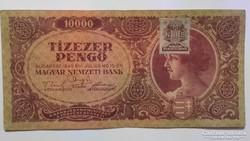 Tízezer Pengő 1945 EF