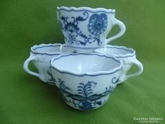Gyönyörű, antik Meisseni csészék 4 db