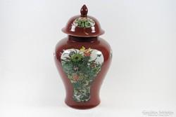 45 cm 19. századi kínai porcelán váza