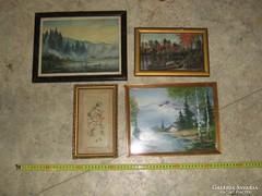 Négy darab kép eladó.