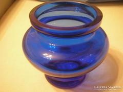 Art deco,súlyos üveg váza