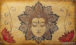 Buddha békéje  Festmény