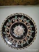 Czúgh Miklós kerámia tányér, falitányér