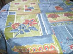 Csodaszép színvilágú 196 x 140 vintage patchwork paplanhuzat