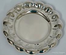 Szép antik ezüst tál