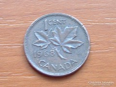 KANADA 1 CENT 1968