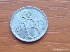 BELGIUM BELGIQUE 25 CENTIMES 1973