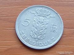 BELGIUM BELGIQUE 5 FRANK 1949