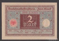 1920. Reichsbanknote, 2 R.Mark.