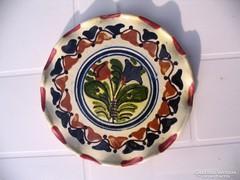 LEÁRAZVA! 16 cm-es Tófalvi korondi tányér fodros széllel