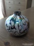 Régi irizáló kis váza