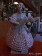 Nagyméretű Déryné szobor. Herend 1.oszt