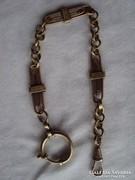 Antik Zsebóra lánc szép darab