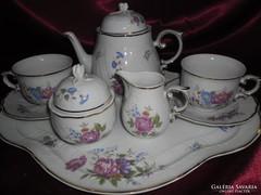 Hollóházi 2 személyes teás, reggeliző készlet