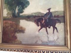 Juszkó Béla (1877-1969) festmény