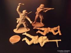 Retró trafikáru műanyag katonák 80-as évek **Afrika Korps**