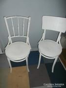 2db Thonet szék fehér