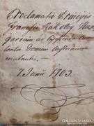 Rákóczi Ereklye. 1703. Munkácsi Kiáltvány! Copia!