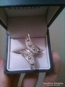 Ezüst fantasztikus gyűrű eladó