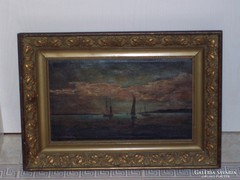 KÁRPÁTHY JENŐ: eredeti festmény