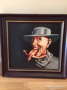 Szkukalek Lajos festmény 29*32 cm