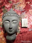 17 cm-es beton Buddha fej