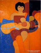 """Baska József ( 1935-)    """" Anya """""""