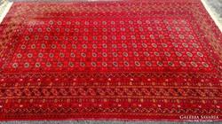 Kézi Bokhara / Yamut Türkmén Perzsa szőnyeg