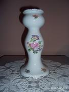Wallendorf porcelán nagy gyertyatartó