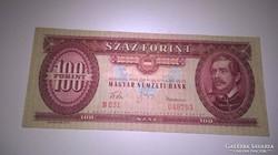 1960-as ropogós 100 forintos bankjegy!