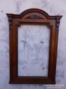 Antik képkeret vagy tükörkeret.Tömör faragott fa.