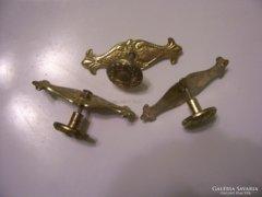 Réz/bronz bútor gombok