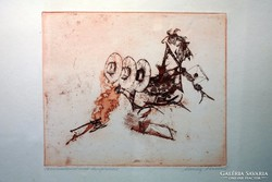 Almássy Aladár litográfia