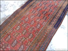 Antik szőnyeg , faliszőnyeg 96 x 330 cm.